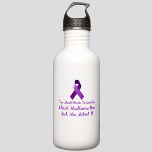 Chiari malformation Awareness Water Bottle