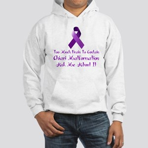 Chiari malformation Awareness Hoodie