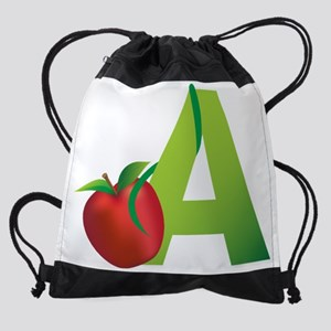 A is for Apple, Drawstring Bag