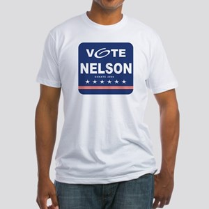 Vote Bill Nelson Fitted T-Shirt