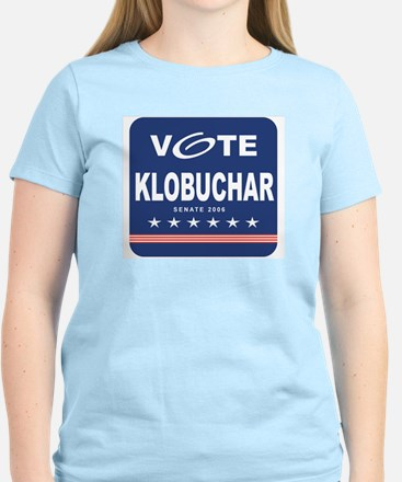 Vote Amy Klobuchar Women's Pink T-Shirt