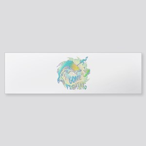 Gone Fishing 3 Sticker (Bumper)