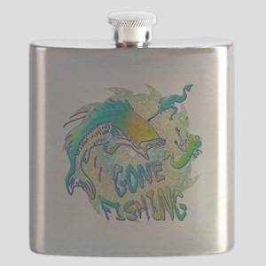 Gone Fishing 3 Flask