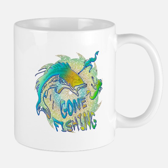 Gone Fishing 3 Mug