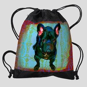 dozer_calendar Drawstring Bag