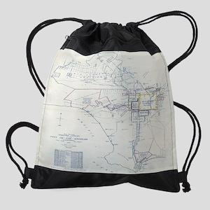 Los Angeles (California.)--Maps. Drawstring Bag