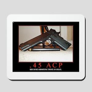 .45 ACP Mousepad