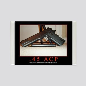 .45 ACP Rectangle Magnet
