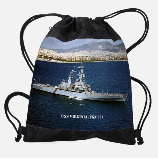 virginia calendar.jpg Drawstring Bag