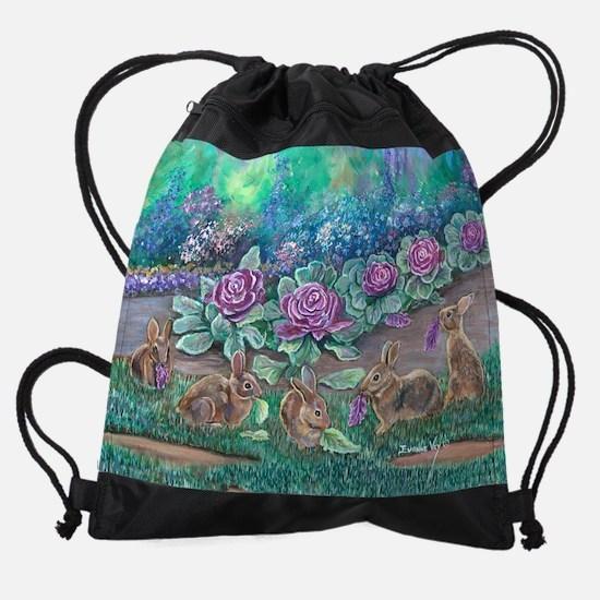 cottontailscalendar11_5x9.png Drawstring Bag