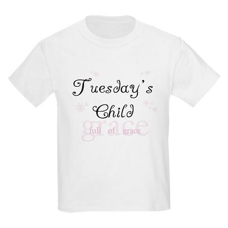 Tuesday's Child Kids T-Shirt