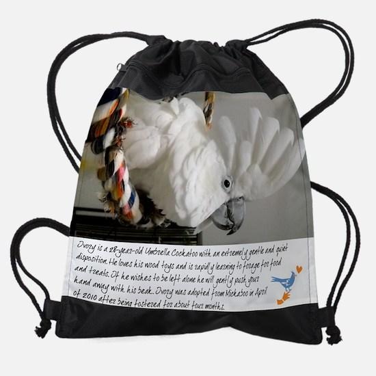 04 April CockatooFinal.jpg Drawstring Bag