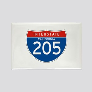 Interstate 205 - CA Rectangle Magnet