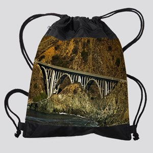 BigCreekBridge20by16 Drawstring Bag