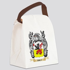 Daly Coat of Arms - Family Crest Canvas Lunch Bag