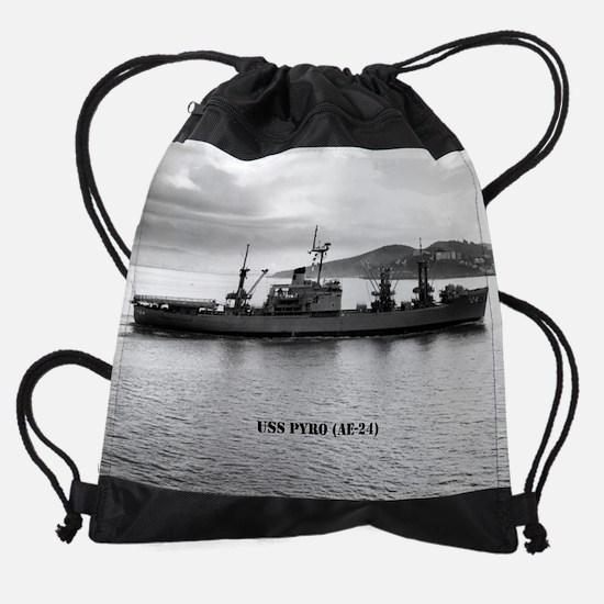 pyro calendar.jpg Drawstring Bag