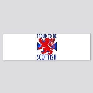 Proud to be SCOTTISH Bumper Sticker