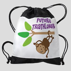 Future Triathloner Drawstring Bag