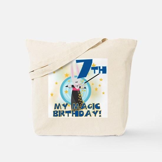 7th Magic Birthday Tote Bag