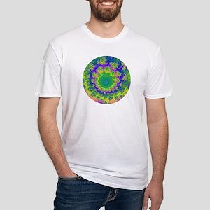 Zen/Fractal - Fitted T-Shirt