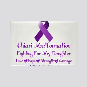 fighting for my daughter Rectangle Magnet