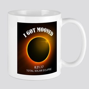 I Got Mooned Total Solar Eclipse Mugs