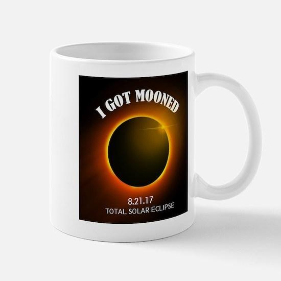 I Got Mooned Total Solar Eclipse Mugs