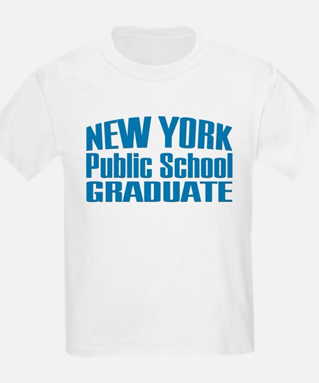 New York Public School Graduate Kids T-Shirt