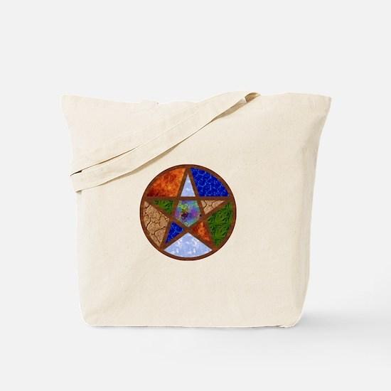 Elemental Pentacle Tote Bag