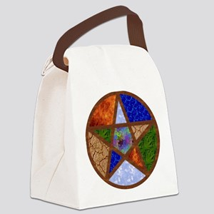 Elemental Pentacle Canvas Lunch Bag
