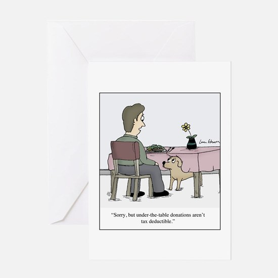 Unique Beg Greeting Card