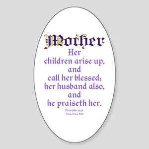 Mothers Day Bible Quote Sticker