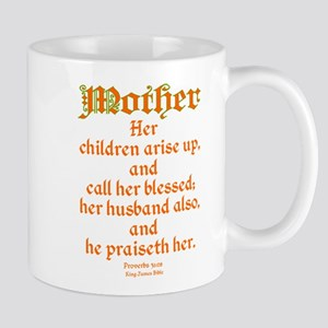 Bible Passage for Mothers Mug