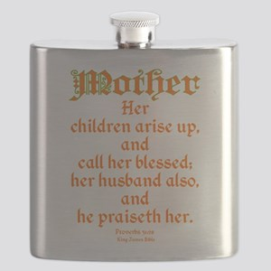 Bible Passage for Mothers Flask