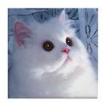 White Persian Tile Coaster