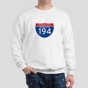 Interstate 194 - ND Sweatshirt