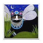 Native American CAT Fairy Princess Tile