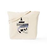 Brooklyn 97202 Thumb Tote Bag