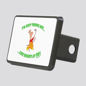 Teeing Off At 80 Rectangular Hitch Cover