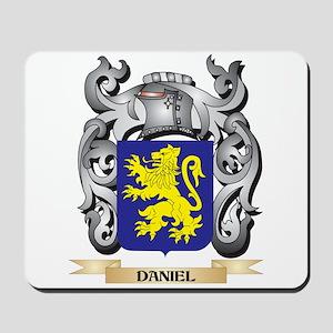 Daniel Coat of Arms - Family Crest Mousepad