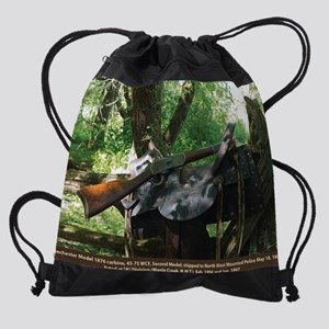 June Page Flat.jpg Drawstring Bag