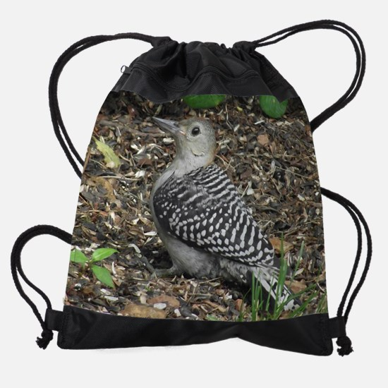 Red-Bellied Woodpecker Drawstring Bag