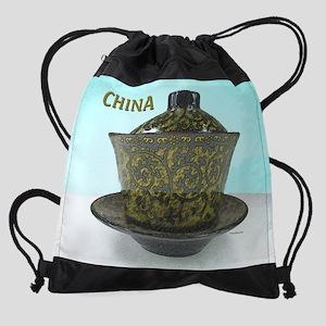 4oclock-china2 Drawstring Bag