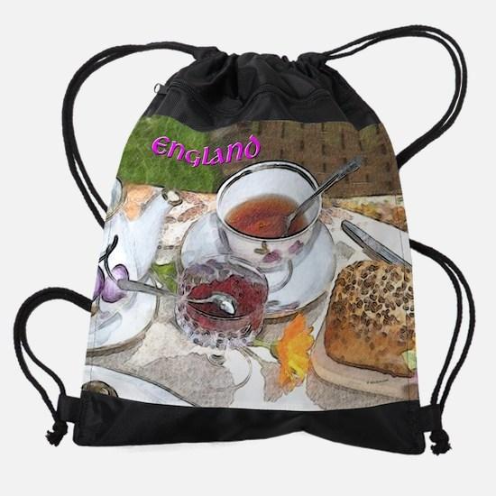 4oclock-england.png Drawstring Bag