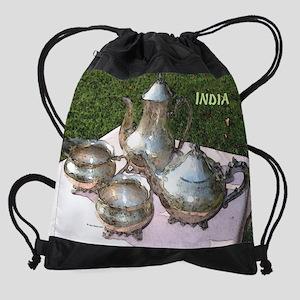 4oclock-india3 Drawstring Bag