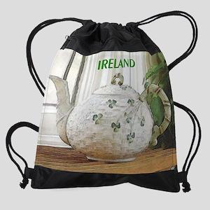 4oclock-irish4 Drawstring Bag