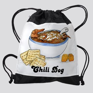 chilidogcal Drawstring Bag