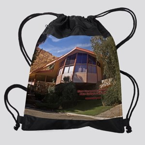 ElvisHideaway20by16 Drawstring Bag