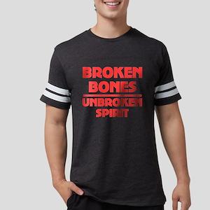 Broken bones Mens Football Shirt