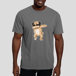 Pug Dab Mens Comfort Colors Shirt